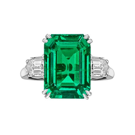 cleef arpels emerald ring betteridge
