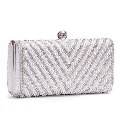 Couture Elongated Clutch by Best 25 Silver Clutch Bags Ideas On