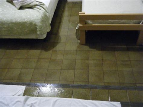 Flooded Room by Flooded Room With Electric Wires Submerged