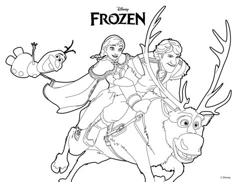 78 best images about frozen coloring on pinterest olaf from frozen coloring page ana olaf kristoff