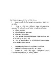 Code Of Ethics Essay by Personal Code Of Ethics Essay Personal Code Of Ethics Essay Outline Of Personal Code Of Ethics