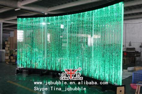 Bathroom Wall Decor Ideas Plexiglass Led Light Indoor Water Fountain Restaurant Bar