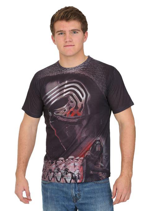 Tshirt Atticus 7 wars episode 7 kylo ren sublimation t shirt