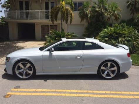 Audi Rs5 4 Door by Purchase Used 2013 Audi Rs5 Base Coupe 2 Door 4 2l In Key