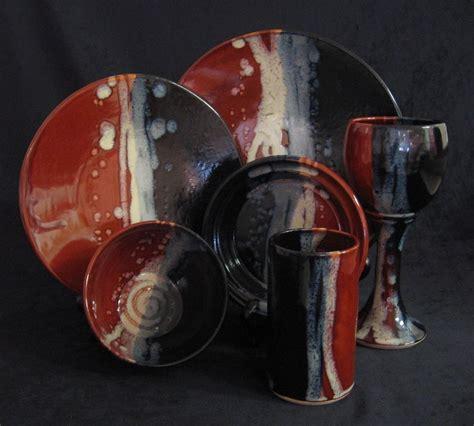 Handmade Crockery - crafted custom handmade stoneware dinnerware by