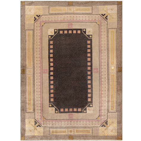 carpet deco rugs deco carpet by josef hoffmann at 1stdibs