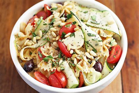 Garden Pasta Salad Recipe Dishmaps Garden Vegetable Pasta Salad