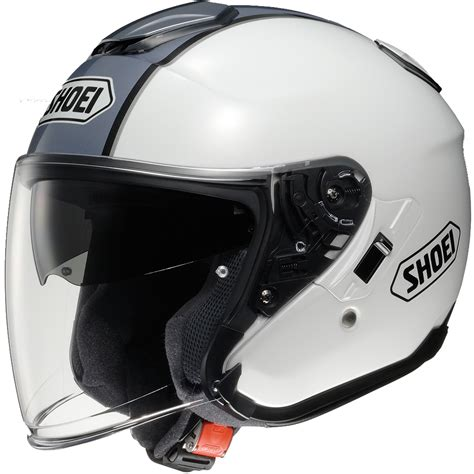 Helm Shoei J Cruise Black shoei j cruise corso white black open motorcycle