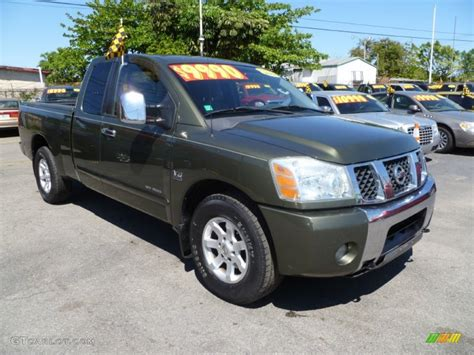 2004 canteen green nissan titan se king cab 62243960 gtcarlot car color galleries