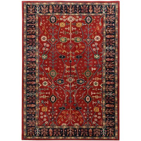 Ancient Rugs by Ancient Treasures Navy Rug Jpg 2000 215 2000