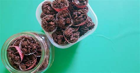 resep emping coklat enak  sederhana cookpad
