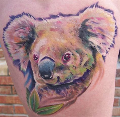 koala bear tattoo designs new designs 2011