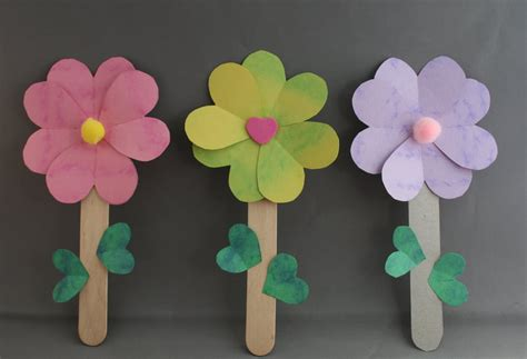 Paper Flower Craft Ideas - ruhi crafts the flowers of one garden