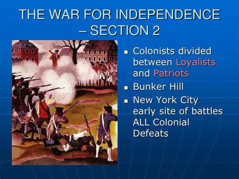 i war 2 slideshow preview independence war ii edge of chaos community ppt chapter 2 revolution and the early republic powerpoint presentation id 2679866