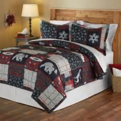 mainstays moose lodge quilt set walmart