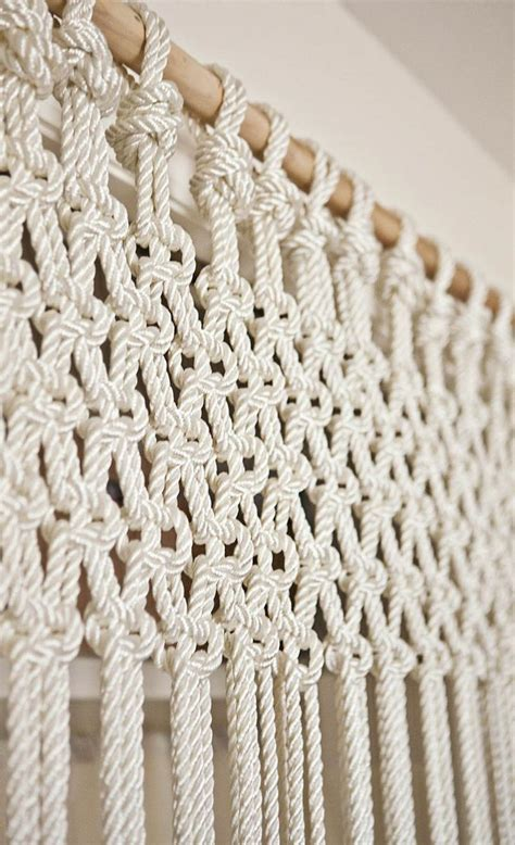 Macrame Work - the of macram 233 and how it can be used around the home bored