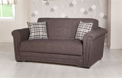 Sunset Upholstery by Andre Brown Loveseat Sleeper By Sunset