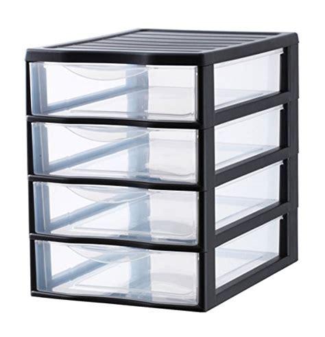 mini storage drawers uk sundis 4506003 orgamix plastic mini storage tower with 4