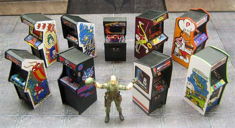 mini arcade cabinets the awesomer