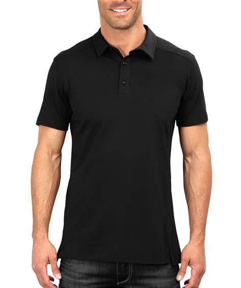 Polo Shirt Black plain black polo t shirt part 1