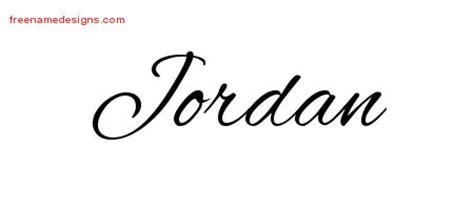 tattoo lettering jordan cursive name tattoo designs jordan free graphic free
