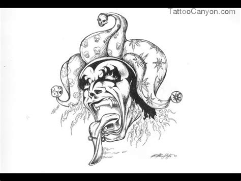 tattoo pictures to download evil clown tattoo stencils images for tatouage