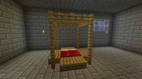 How To Make Furniture In Minecraft by How To Make An Awesome Bed In Minecraft Minecraft