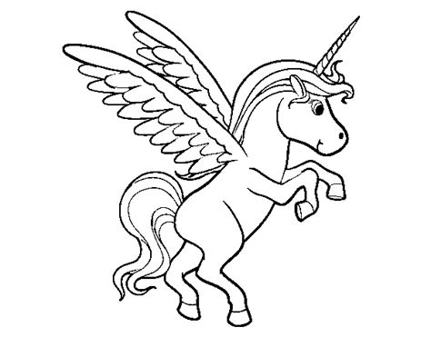 coloring page flying unicorn pin flying unicorn coloring pages for kids image search