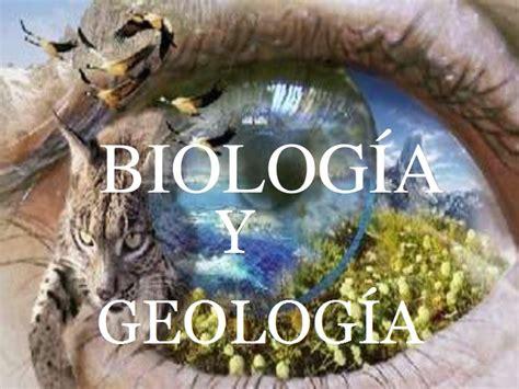 biologa y geologa biologia y geologia