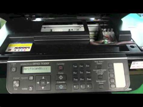 resetter epson stylus photo tx300f reset do chip do bulk ink na epson tx300f sulink youtube