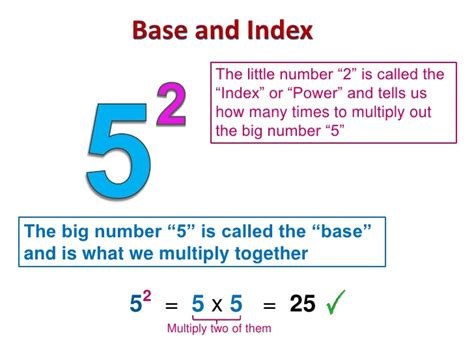 what is a called basic exponents and indices