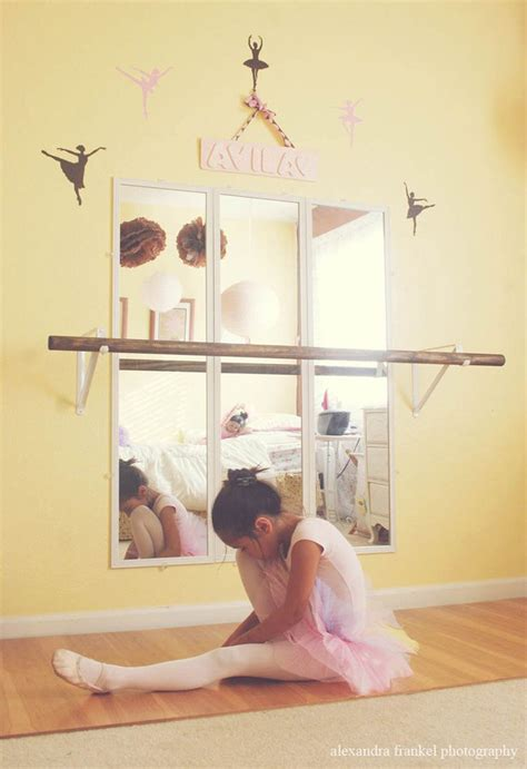 ballet barre in bedroom ballerina wall decals set of 5 many color choices