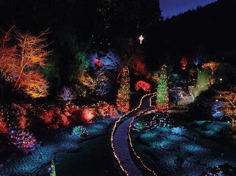 butchart gardens holiday lights tour holiday lights tour butchart gardens