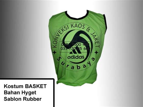 Baju Basket Surabaya hasil produksi