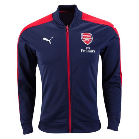 Jaket Grade Ori Arsenal Prematch 2017 jaket bola arsenal home 2016 2017 jersey bola grade ori murah