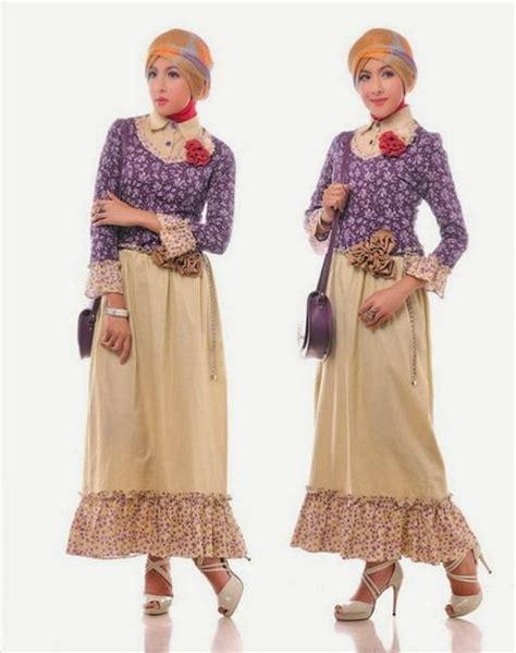 Tyara Baju Dress Tunik Gamis Manset Batik Menyusui Jumbo Best Se pesona batik nusantara yang indah dan menawan untuk muslimah ide model busana