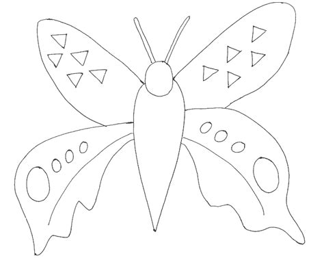 coloring pages of butterfly wings butterfly having big wings coloring page printable