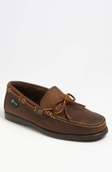 eastland boat shoes eastland yarmouth boat shoe in brown for