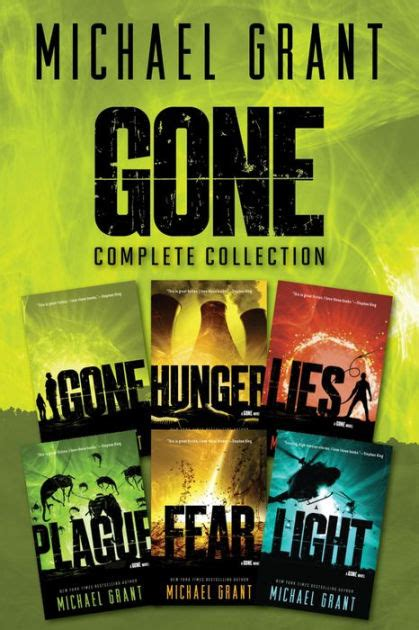 light a gone novel gone series complete collection gone hunger lies