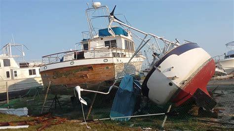 boat storage hervey bay hurricane harvey destruction rockport texas cove harbor