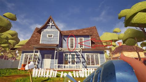 Two Bed Room House by Hello Neighbor Guide Act 1 Puzzle Walkthrough Hello