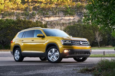 vw atlas 2018 volkswagen atlas reviews and rating motor trend