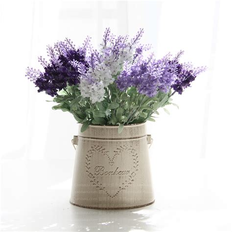 Flower Overall Inner One Set metal vintage lavender bowyer overall set flower home decoration new arrival