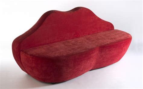 divano labbra divano a forma di bocca 2 posti rosso rental design