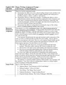 Critical Response Essay Format by Best Photos Of Exle Of A Synopsis Paper Exle Summary Paper Exles Synopsis Research