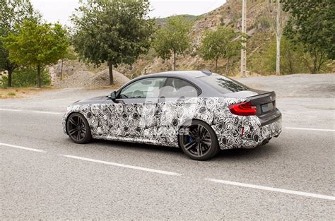 upcoming bmw m2 cs spotted in spain