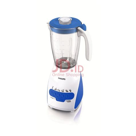 Blender Philips Ukuran Besar jual philips blender plastik 2l hr2115 30 biru jd id