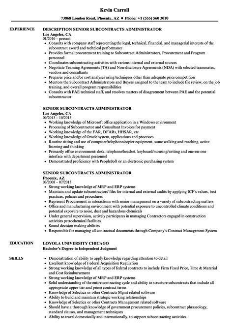 messaging administrator sle resume sle of