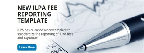 ilpa template new ilpa fee reporting template compliance building