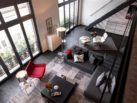 interior design zurich industrial apartment in zurich gets a fresh contemporary